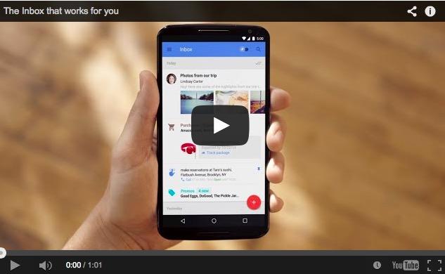 VIDEO -Google neemt Gmail onder handen 1