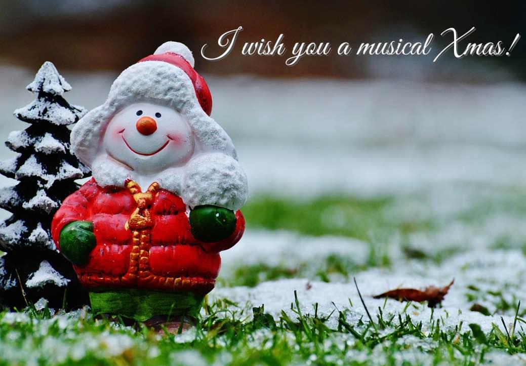 Musical christmas wish