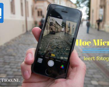 App | Microsoft helpt je met...fotograferen! 3