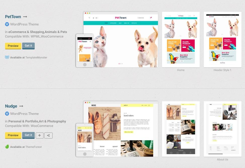 Een thema vinden voor je website wordt zo makkelijker.