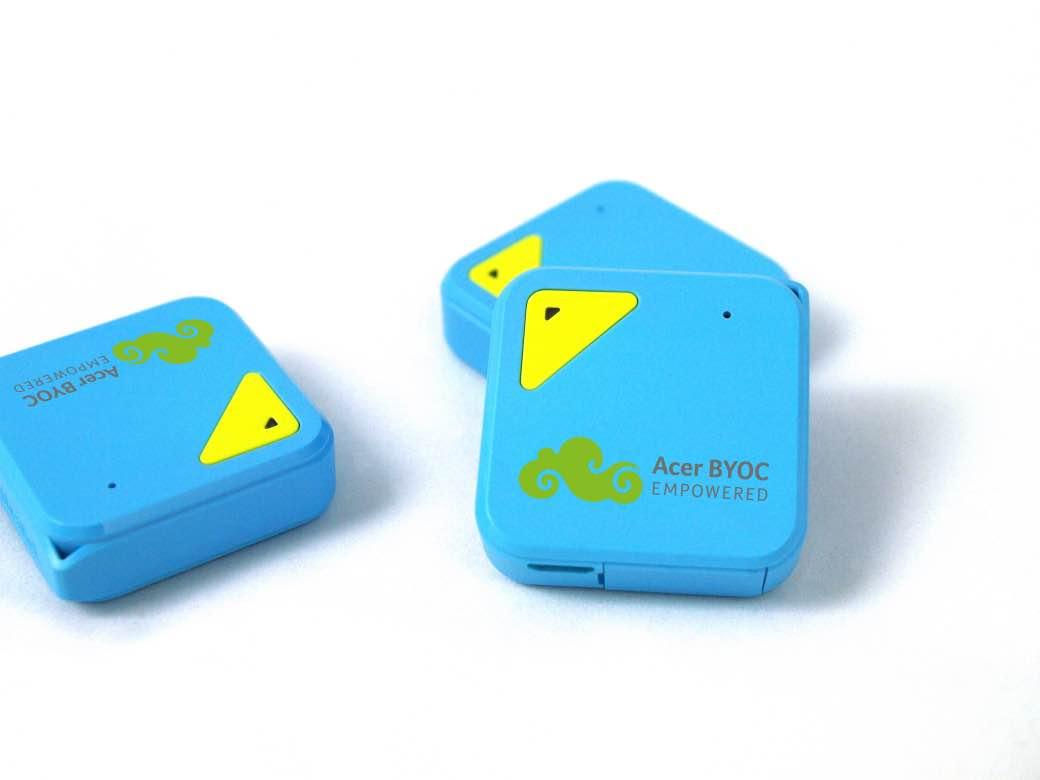 De Acer tracker. Foto: PR