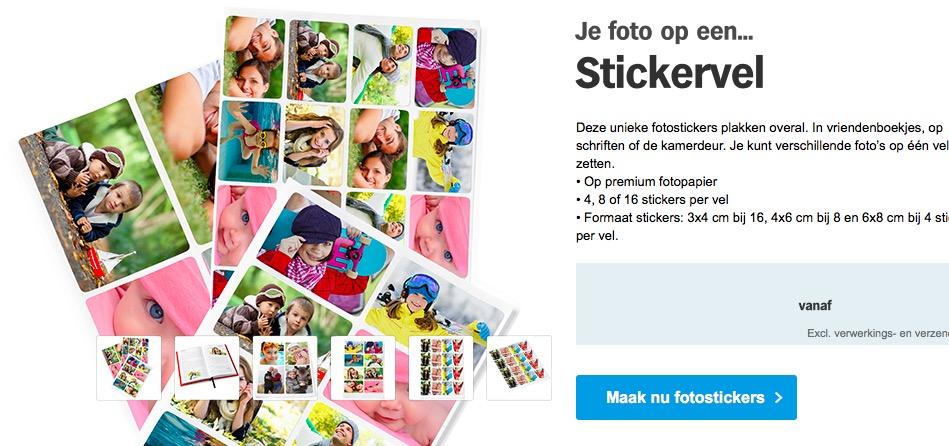 SITE - Maak van je foto's stickers 1