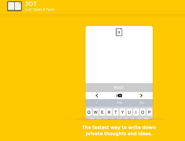 APP - Dagboek met een slotje op je telefoon 1