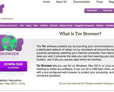 APP - Anoniem over internet surfen 7