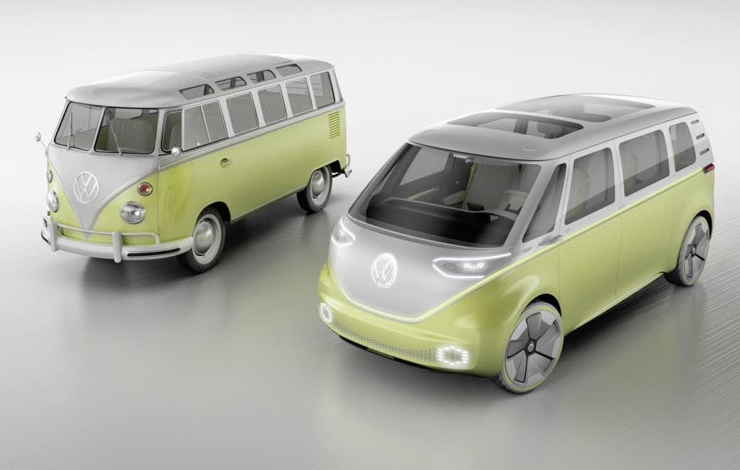 VAKANTIE - Revival van de VW-(vakantie)bus 1