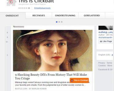 SOCIAL MEDIA - Wijs zelf clickbait aan 2
