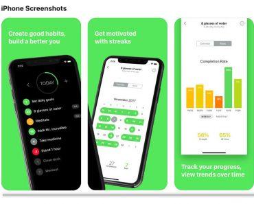 APP - App maakt van voornemen een gewoonte 5